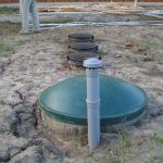 Руководство, как устанавливается септик из бетонных колец при высоком УГВ