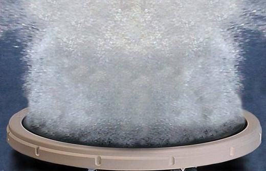 На изображении диффузор в рабочем состоянии