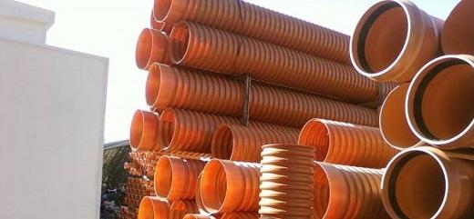 Дренажные трубы для септика на изображении