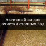 Активный ил для очистки сточных вод